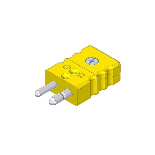 Standard Thermostecker Typ K gelb - Steckverbinder