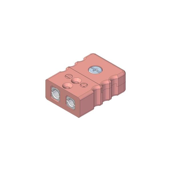 Standard Thermokupplung Typ N rosa - Steckverbinder