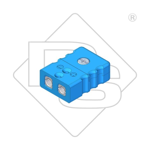 Standard Thermokupplung Typ L blau - Steckverbinder