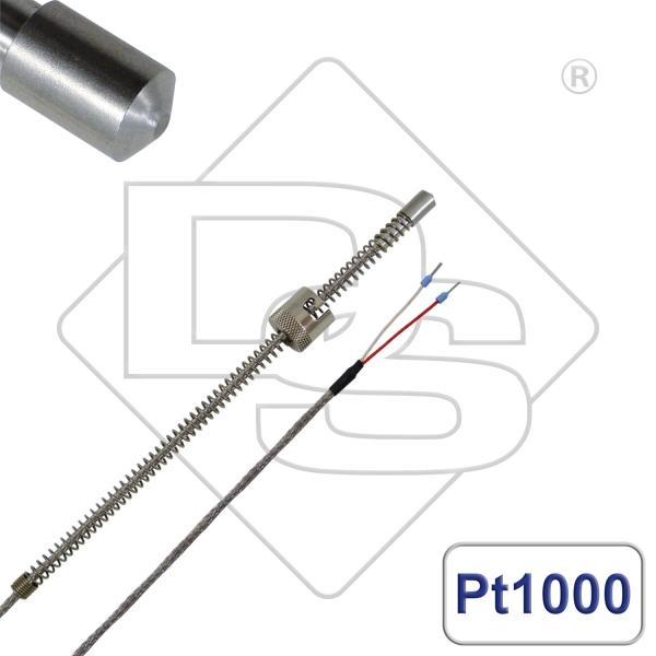 Bajonetttemperaturfühler Pt1000 Messspitze 120°