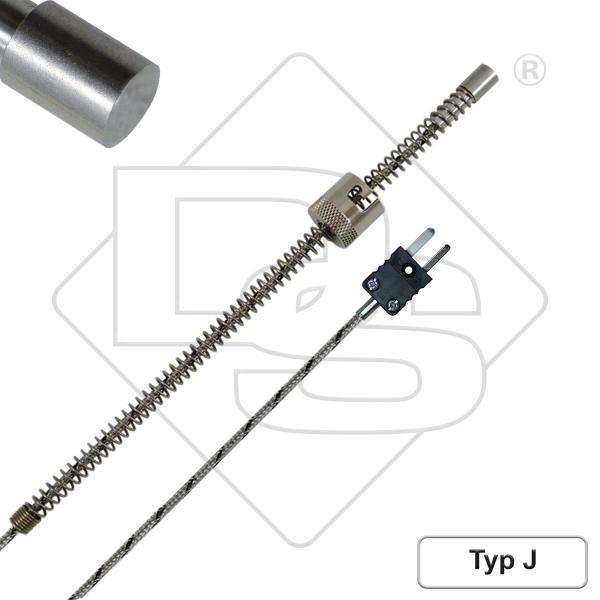 Bajonett-Thermoelement BJ1-T Typ J | D-Sensors